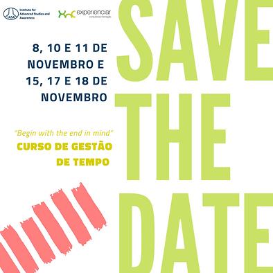 Save the date Curso de Gestão de Tempo Instagram .png