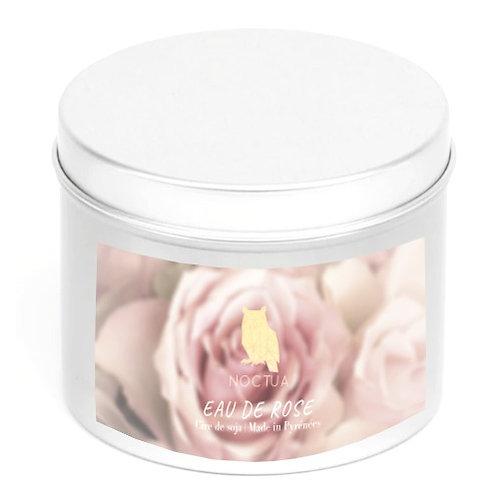 Bougie eau de rose 250g