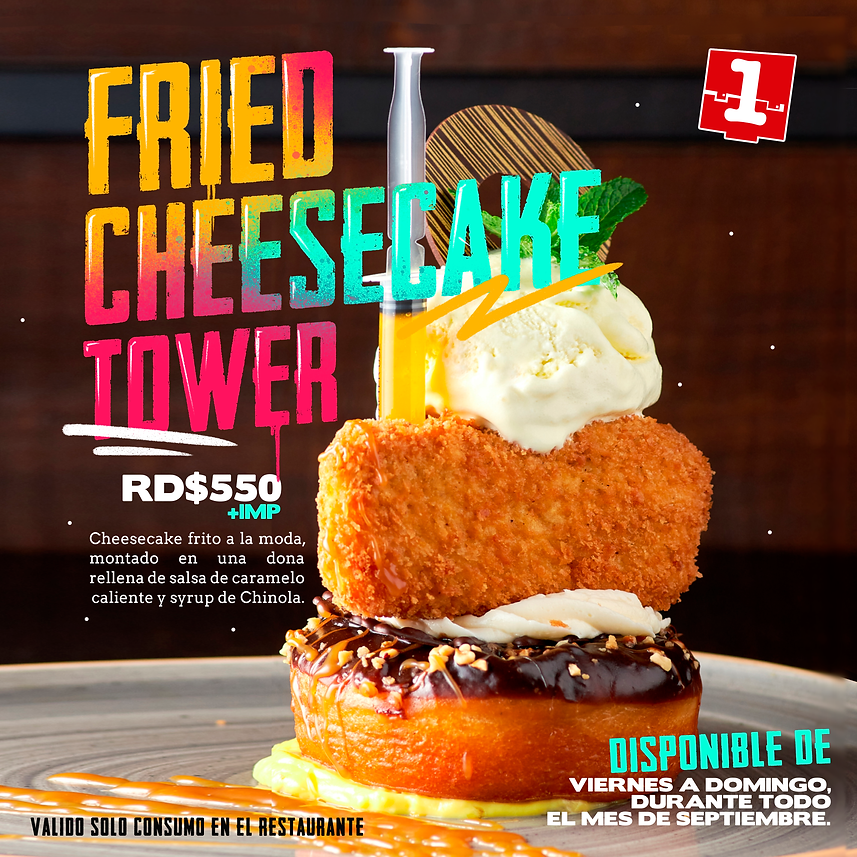 Fried cheesecake tower .png
