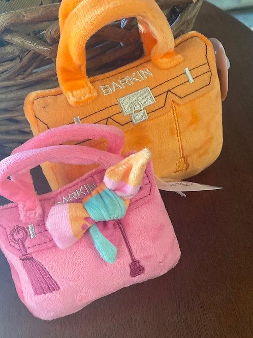 Barkin Bag    Squeaky  Dog Toy