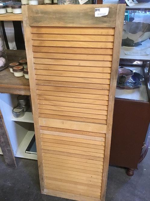 Vintage shutter