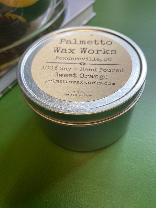 8oz Soy Candle- Sweet Orange
