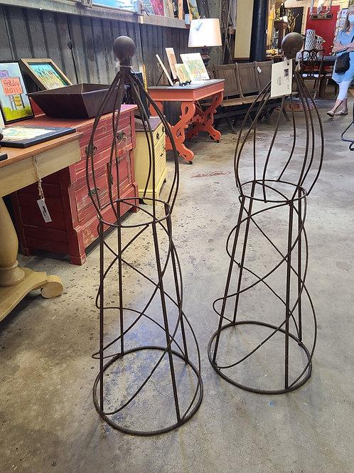 Tall Wire Trellis