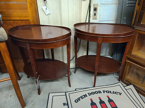 Pair of Mersman Side Tables