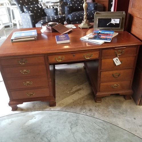 Antique Chippendale Executive Desk