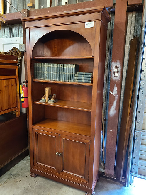 Tall Bookcase with Cabinet