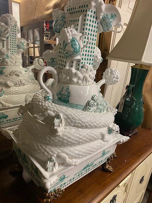 Unique Ceramic Centerpiece