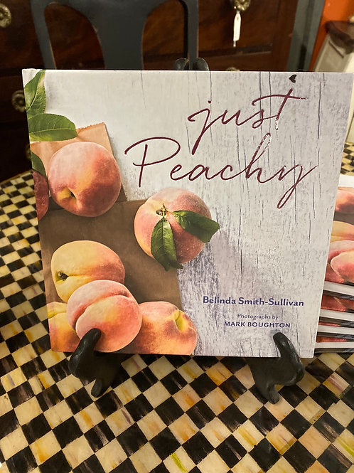 Just Peachy -cookbook by SC author