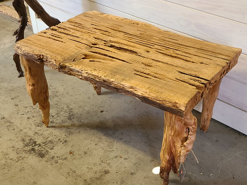 Artist Made Cypress Coffee Table