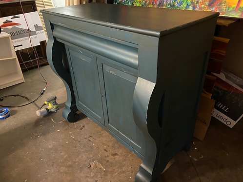 Blue Empire Sideboard