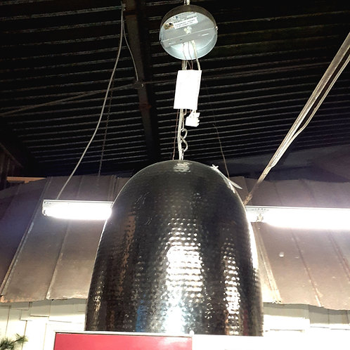 Bell shaped hanging light