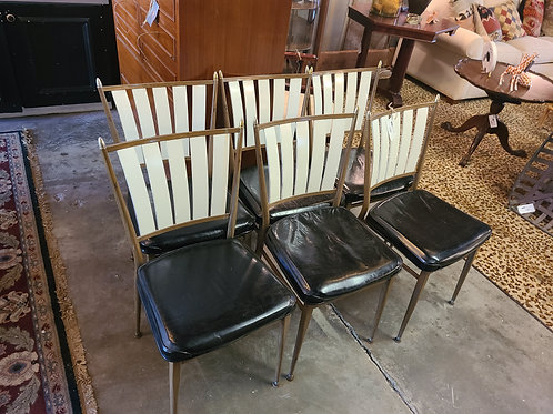 6 Mid Century Dining Chairs