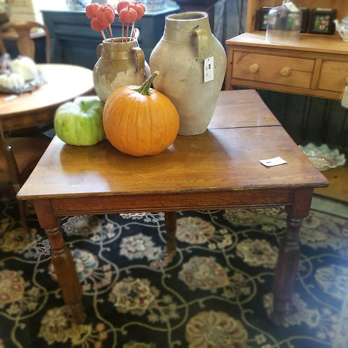 Square 5 Legged Table with 2 Leaves