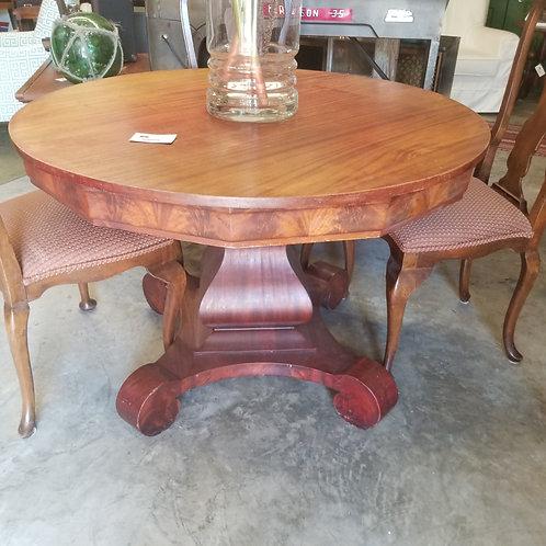 Vintage Pedestal Table