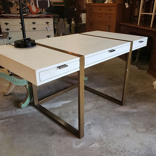 White and Gold Desk