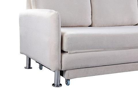 Cozy 3 Seater Pull Out Sofa Bed White Yz138 Cozy Furniture