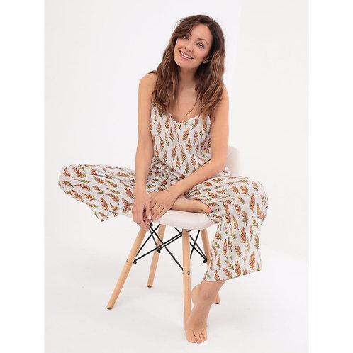Пижама из крепового шелка
