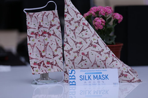 Защитная маска из шелка
