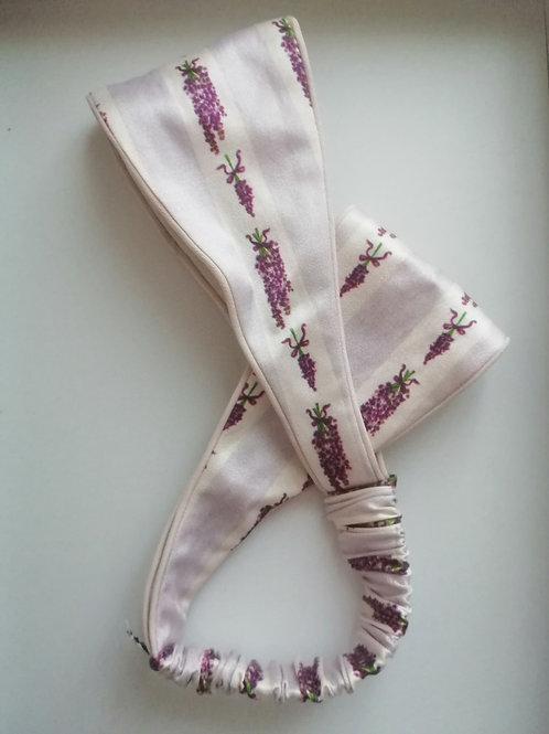 Шелковая повязка ободок