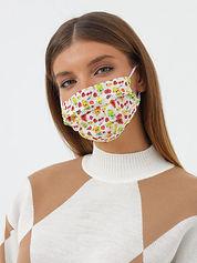 Шелковая защитная маска
