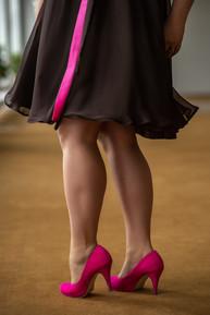 Anna Lindh custom cocktail dress