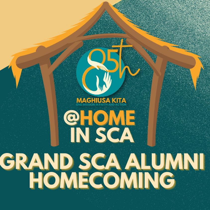 @Home in SCA (Grand SCA Alumni Homecoming)