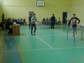 Спартакиада БГК по настольному теннису