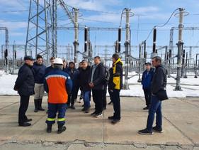 Знакомство с объектом единой национальной электрической сети