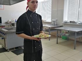 """Конкурс профессионального мастерства """"Праздничный салат"""""""