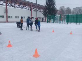 Веселые старты на льду
