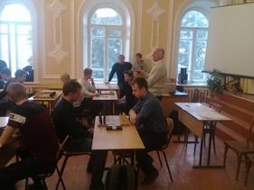 Областная спартакиада по шахматам