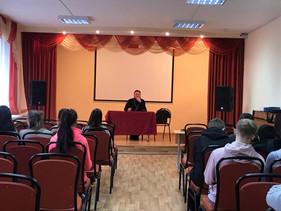 Встреча студентов колледжа с протоиереем Николаем Алясовым