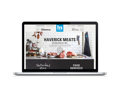 Haverick Meats - Webdesign