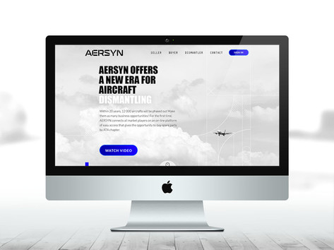 Aersyn - Webdesign