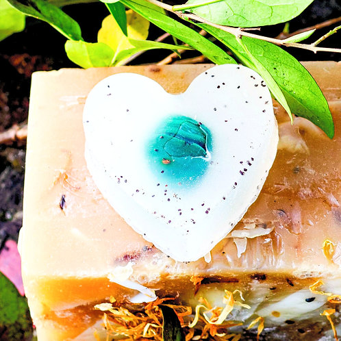 Hemp & Frankincense Heart Soap