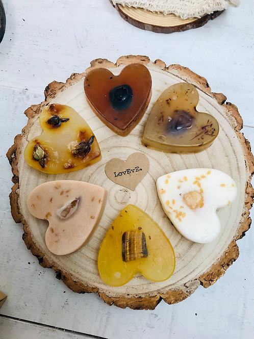 Loveve Heart Soap Collection