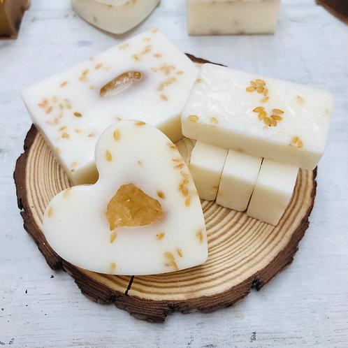 Shea Butter & Lemon Soap Bar Set