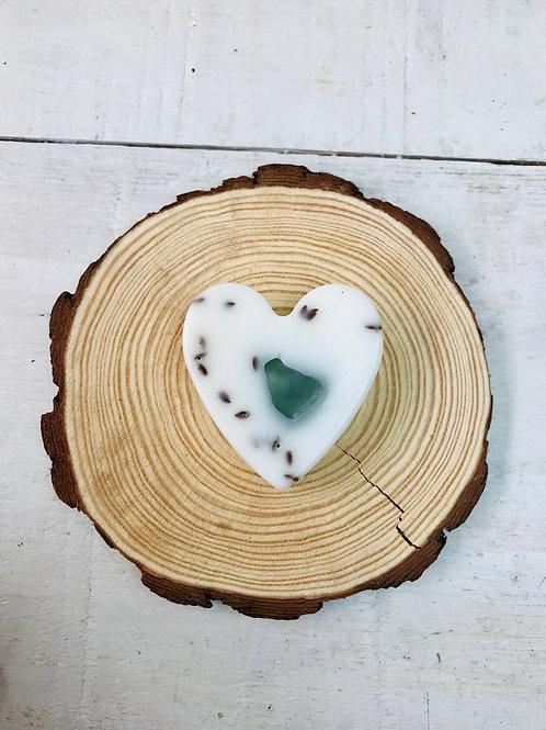 Shea Butter & Ylang Ylang/Geranium Heart Soap