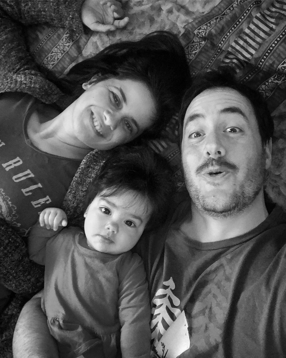 Amélie, Mia-Jade and Marc-André