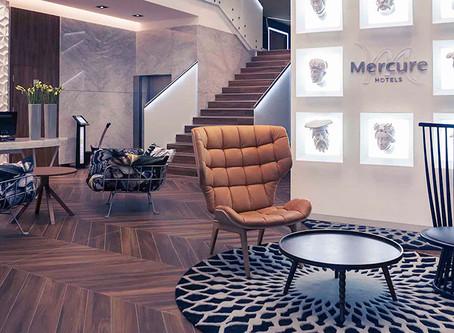 Hotel Mercure i skanowanie 3D