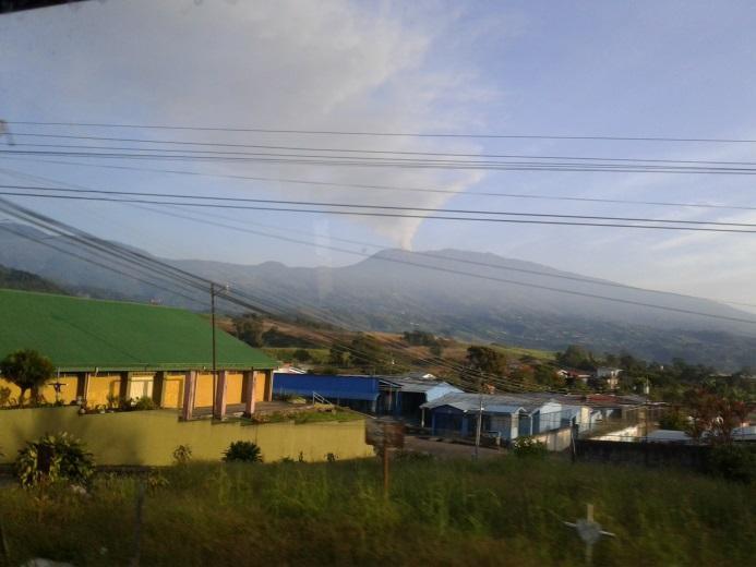 Ein ständiger Aktivposten: Der Vulkan von Turrialba.