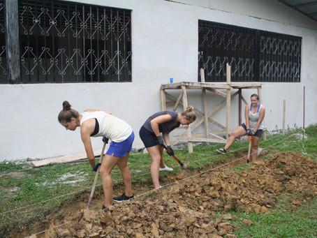 Freiwilligeneinsatz in Limón 2000 im August 2017