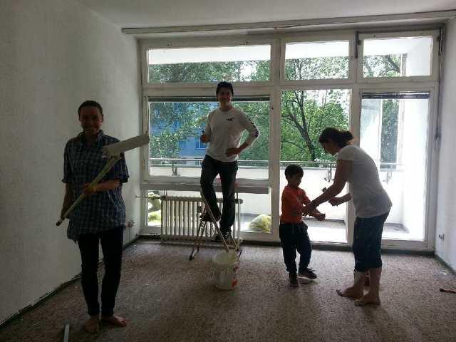 Flüchtlingswohnung renovieren