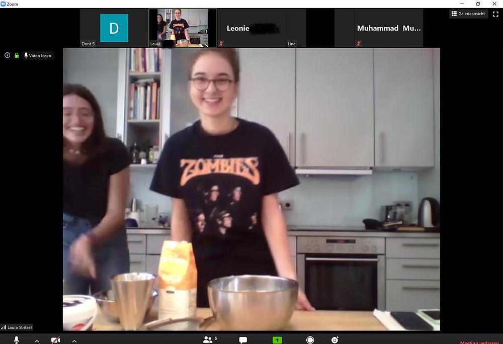 Backworkshop mit Lina und Laura