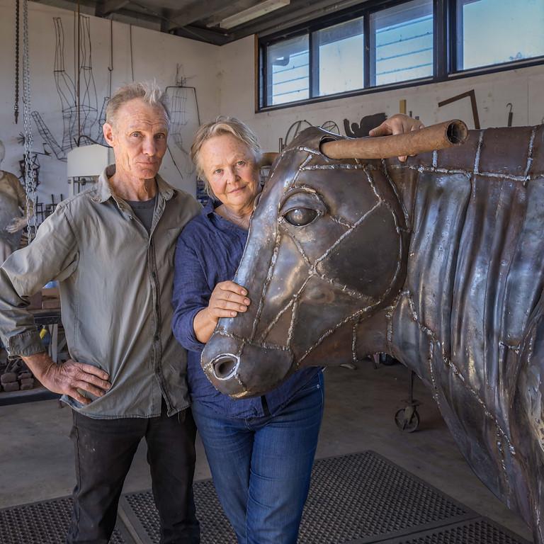 Suzie Bleach & Andy Townsend