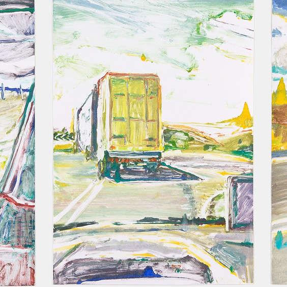 Monotypes and more - studio visit