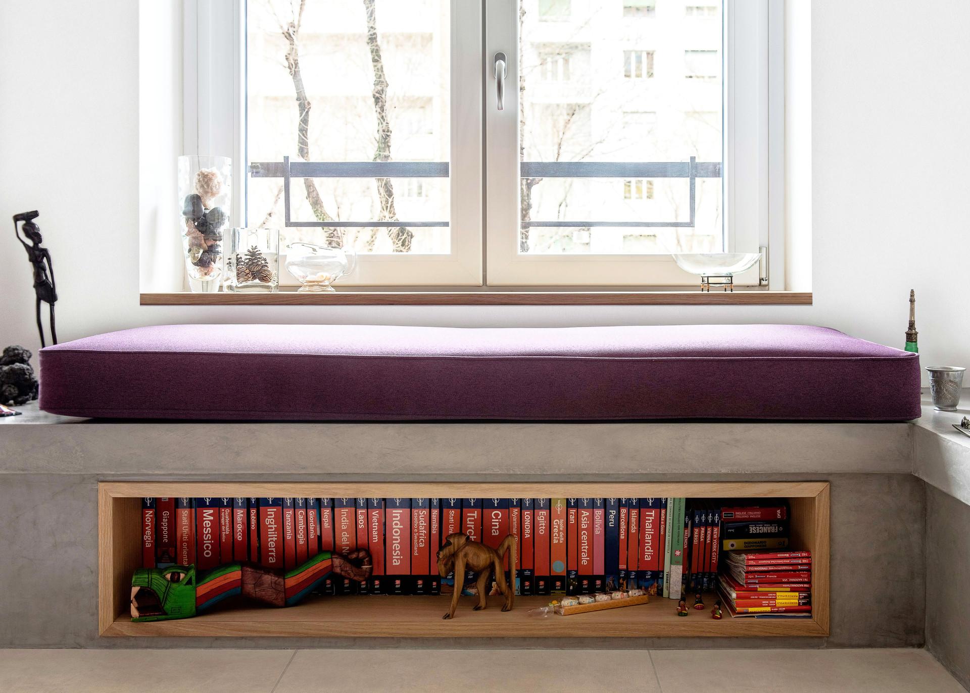 Libreria+Seduta I Bookcase+Seating