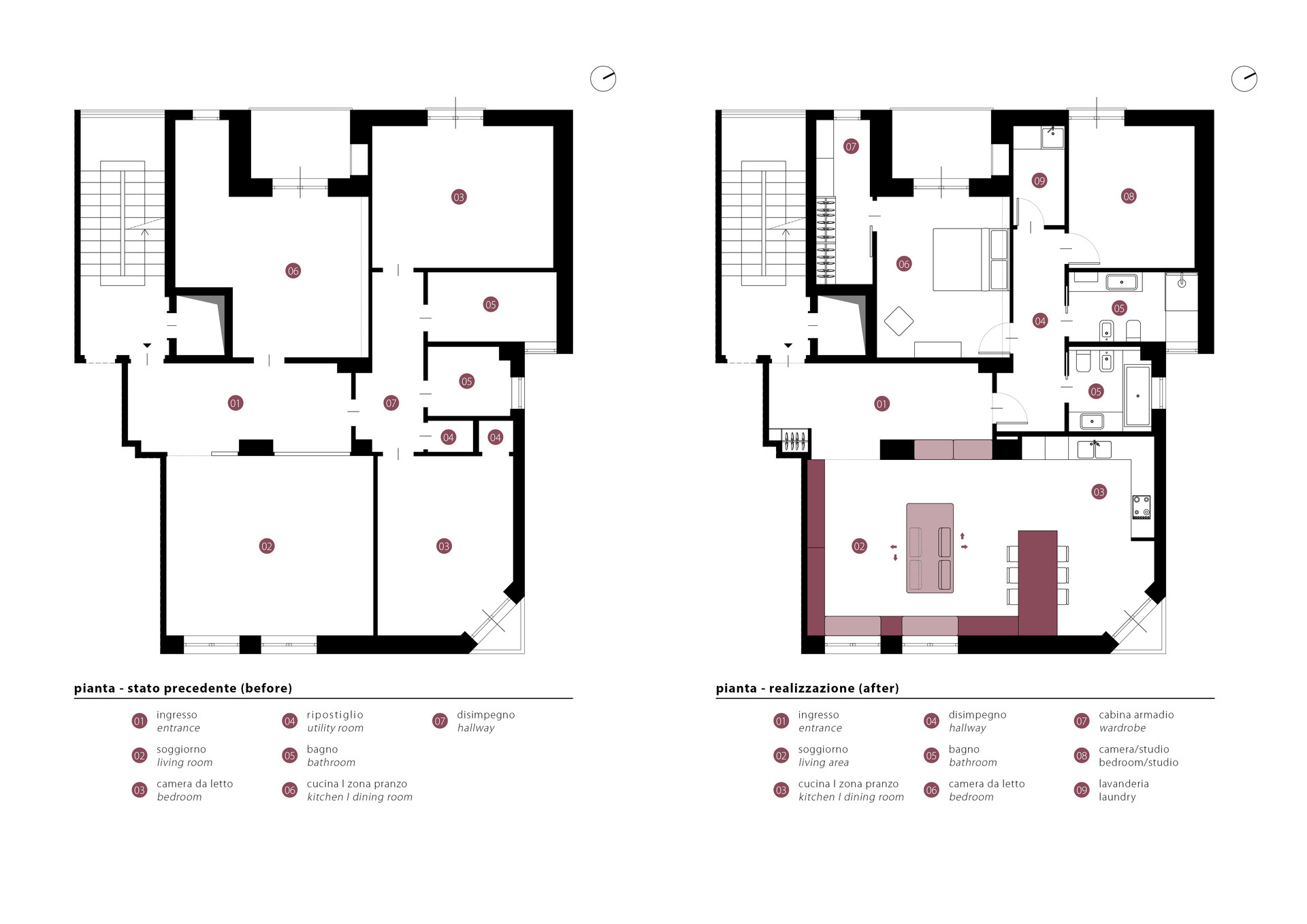 Pianta I Floor Plan