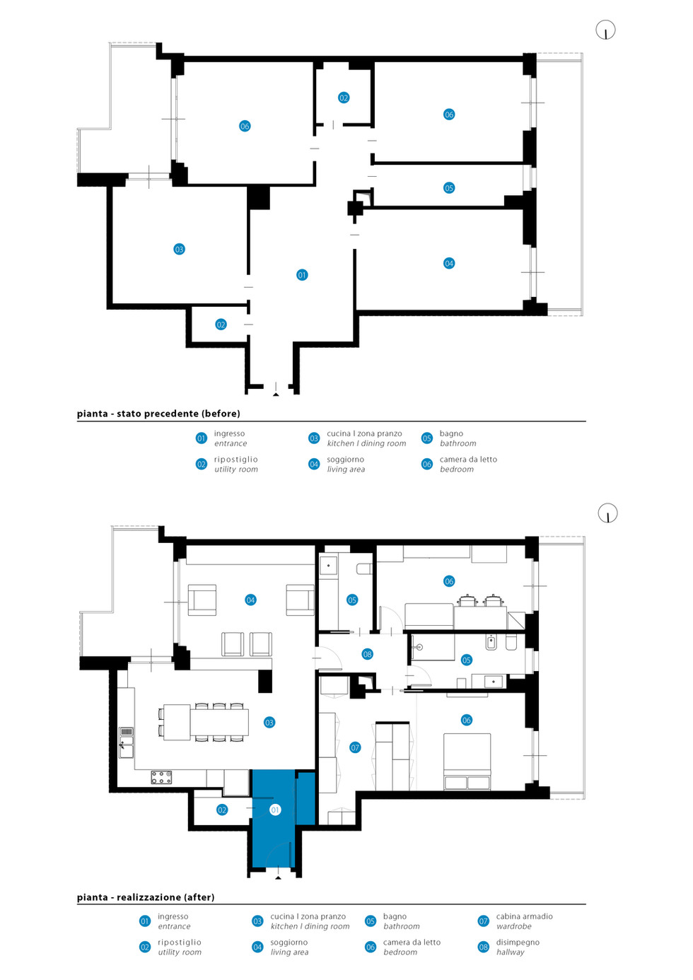 Pianta I Floor Plan