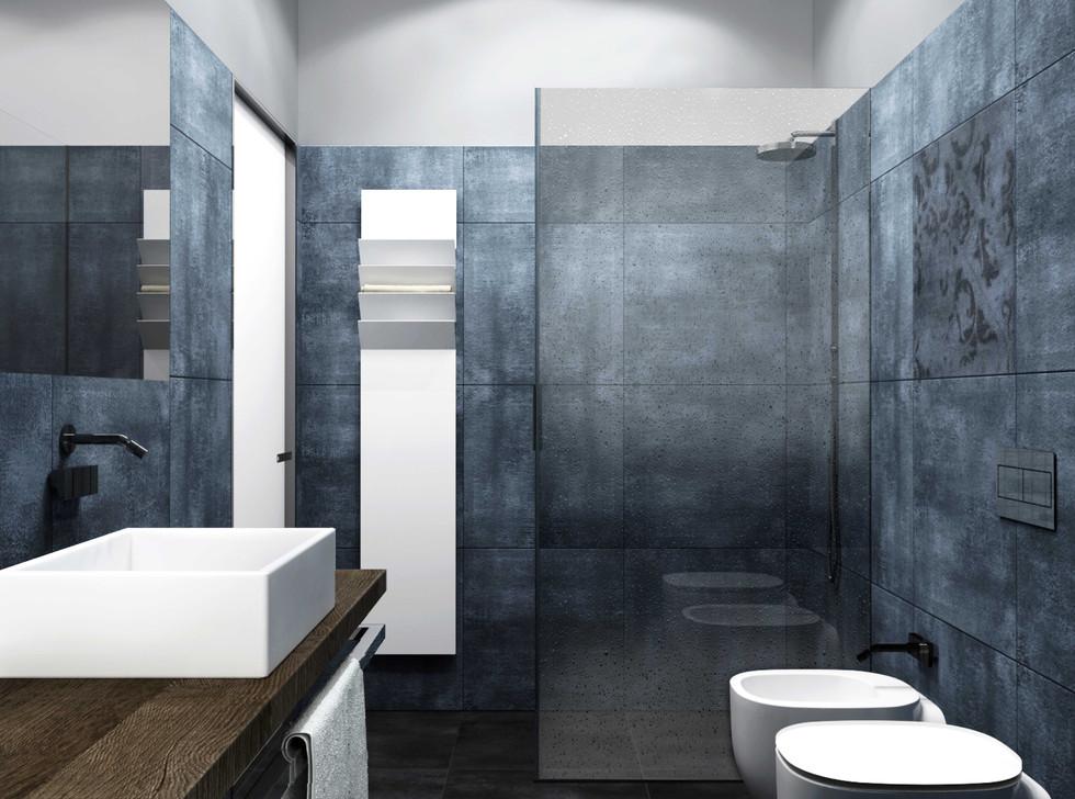 bagno (zona giorno) I bathroom (living area)